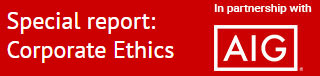 Special report: Corporate ethics | Updates from AIG | StrategicRISK